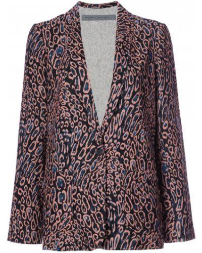 Пиджак свободный леопардовый Raquel Allegra