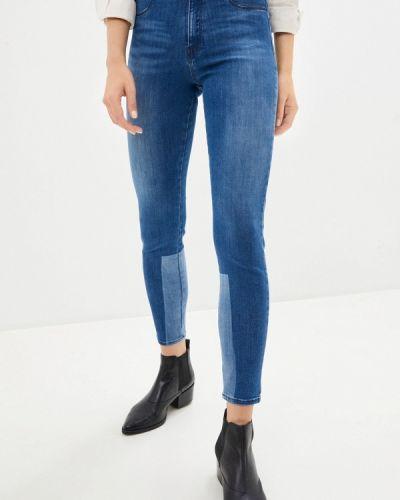 Синие джинсы-скинни узкого кроя Rifle