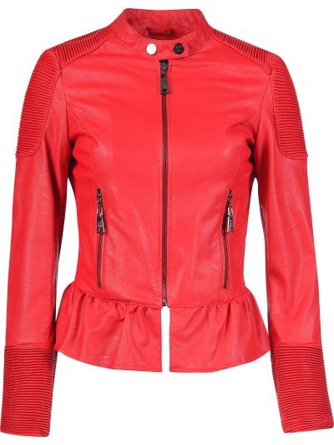Куртка осенняя красная Twin-set