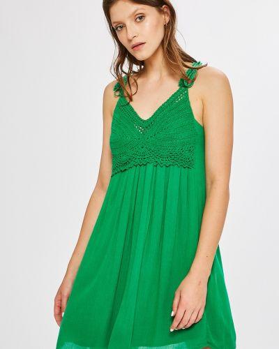 Платье мини с V-образным вырезом с вышивкой Answear