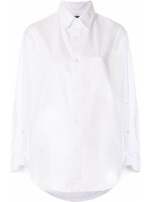 Рубашка белая на пуговицах Citizens Of Humanity