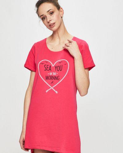 Пижама с рубашкой розовый Henderson Ladies