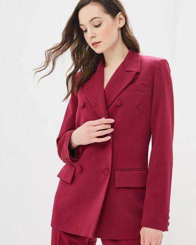 Пиджак бордовый красный Elena Kulikova