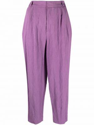 Укороченные брюки - фиолетовые Chinti And Parker