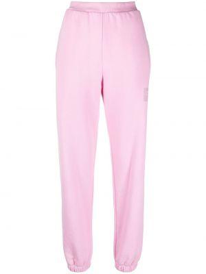 Зауженные спортивные брюки - розовые Opening Ceremony