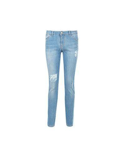 Зауженные джинсы - голубые Blugirl