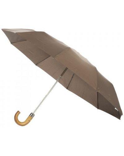Зонт коричневый Fabi