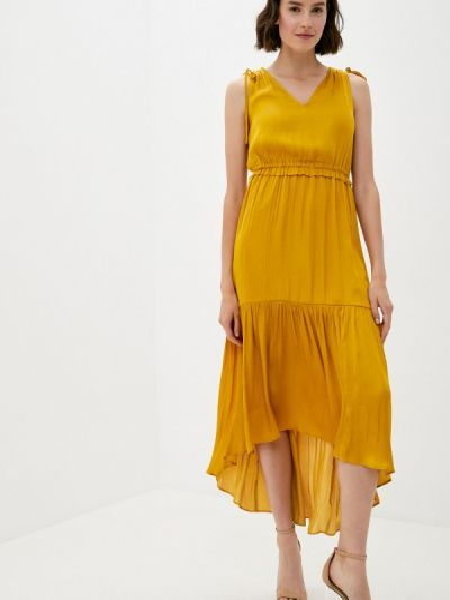 Платье - желтое Banana Republic