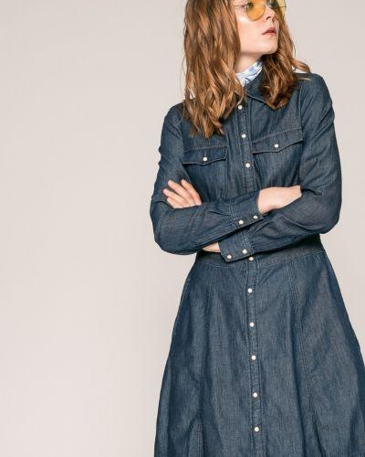 Джинсовое платье мини с карманами G-star Raw