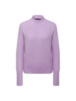 Фиолетовый кашемировый свитер Escada