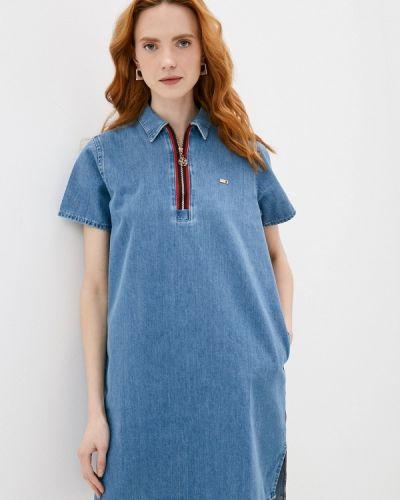 Джинсовое платье - голубое U.s. Polo Assn.