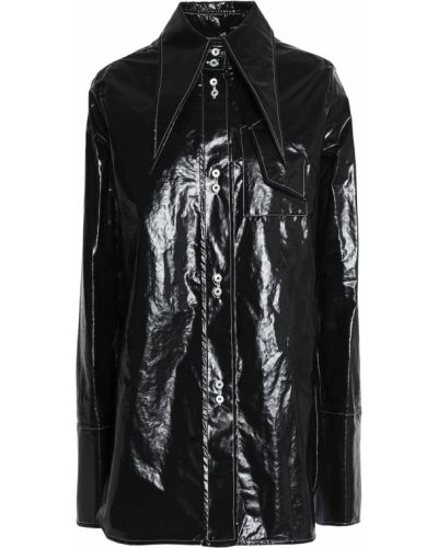 Ватная черная куртка с карманами Ellery