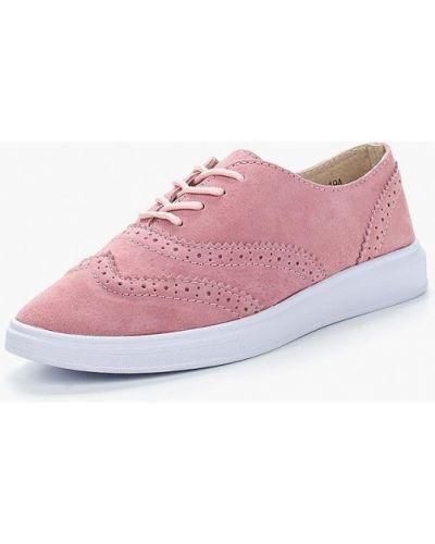 Розовые ботинки Inario