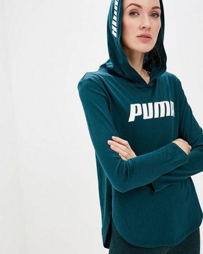 Поло зеленый Puma