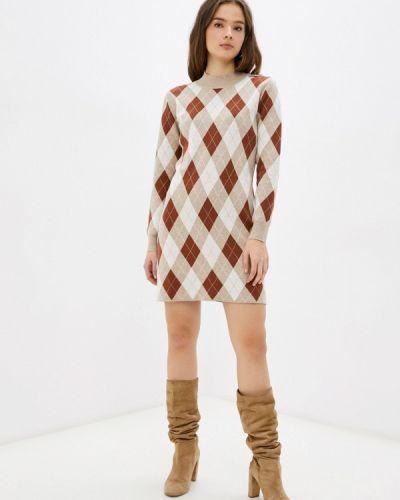 Трикотажное платье - бежевое Rodier