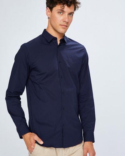 Рубашка однотонная хлопковая Selected