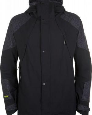 Куртка с капюшоном горнолыжная черная O`neill