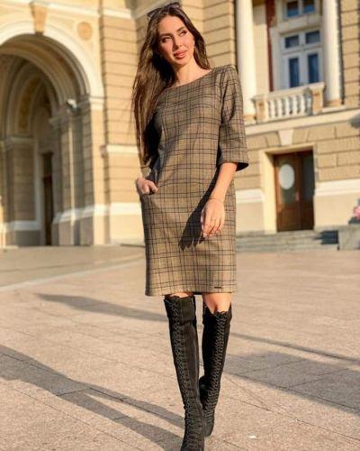 Платье - коричневое Jaded London