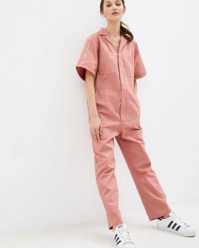 Розовый комбинезон Adidas Originals