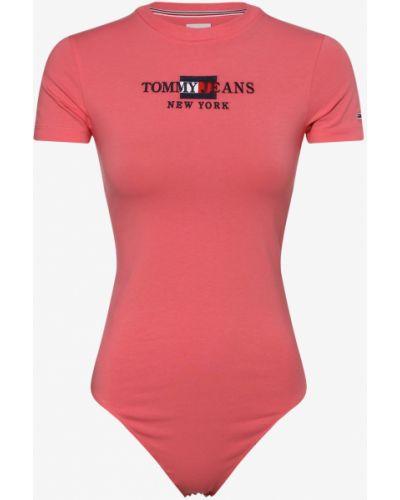 Różowy body Tommy Jeans