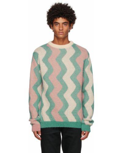 Sweter moherowy - beżowy Drole De Monsieur
