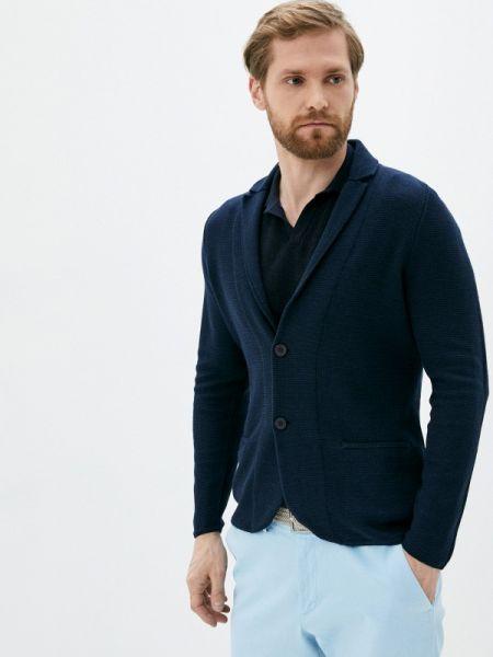 Синий свитер Falconeri