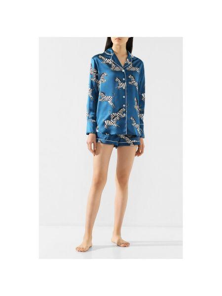 Пижама атласная шелковая Olivia Von Halle