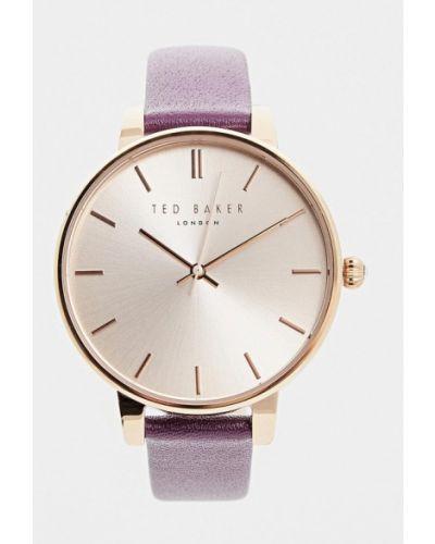 Часы черные фиолетовый Ted Baker London
