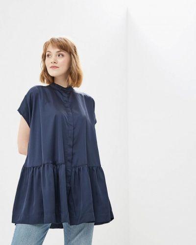 Синяя туника туника-блуза Ruxara