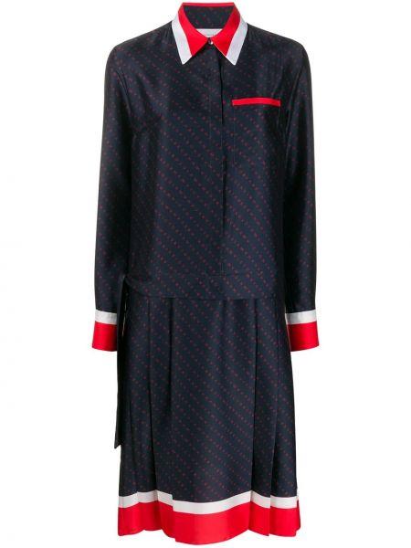 Платье в полоску платье-рубашка Victoria, Victoria Beckham