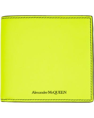 Portfel skórzany - czarny Alexander Mcqueen