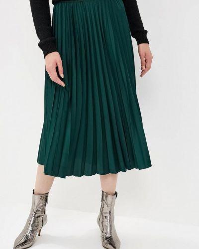 Плиссированная юбка зеленый Liu Jo