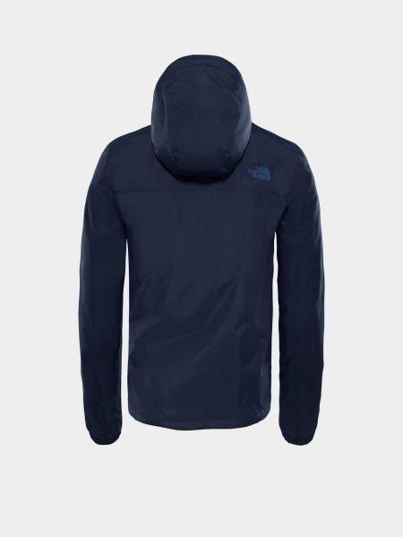 Куртка с капюшоном - синяя The North Face