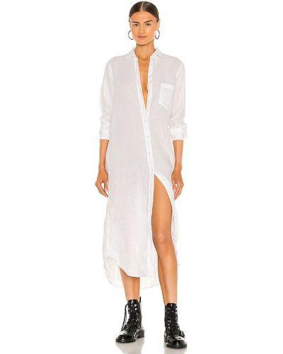 Платье макси длинное - белое Frank & Eileen