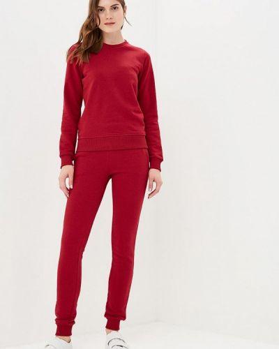 Спортивный костюм красный бордовый Zerkala