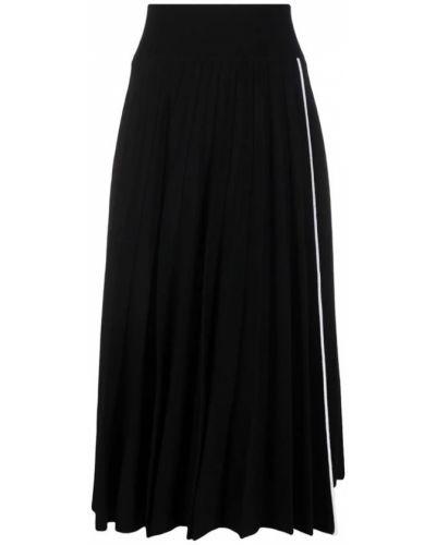 Czarna spódnica Sacai