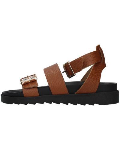 Brązowe sandały Apepazza