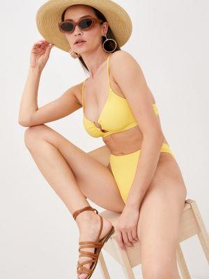 Желтый зимний купальник Winzor