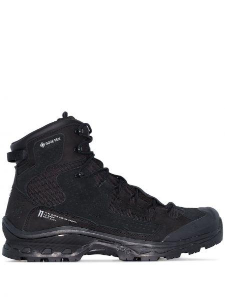 Черные треккинговые ботинки на шнуровке Boris Bidjan Saberi