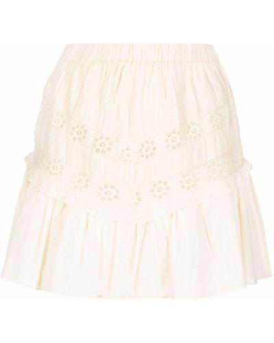 Хлопковая юбка Loveshackfancy