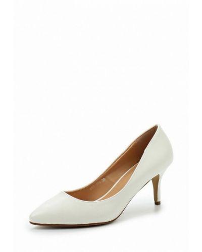 Белые туфли-лодочки Mada-emme