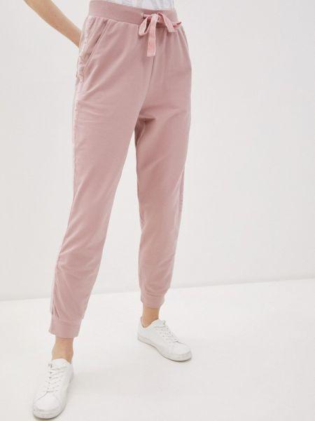 Спортивные брюки розовый весенний Incity