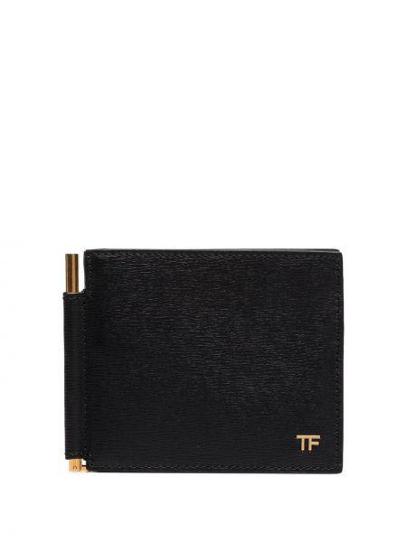 Portfel plastikowy czarny Tom Ford