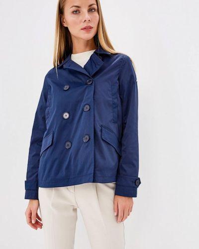 Синяя куртка облегченная Baon