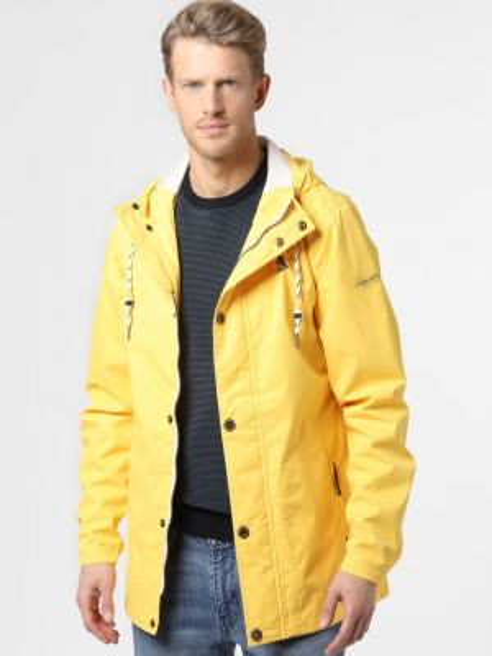 Żółta kurtka sportowa Schmuddelwedda