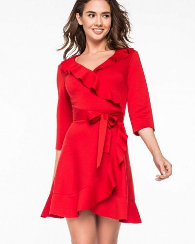 Платье с запахом осеннее Itelle