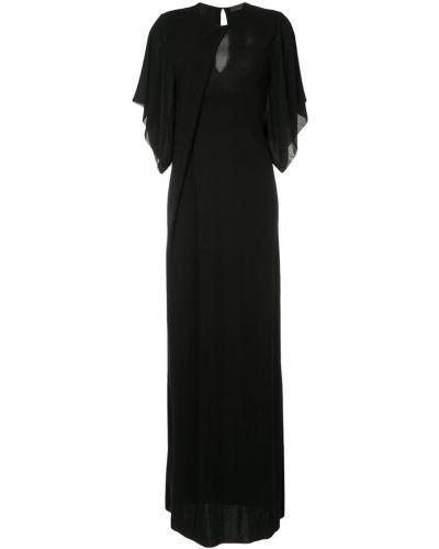 Платье с драпировкой с вырезом Costume National