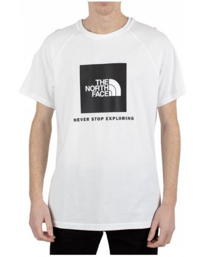 Biała podkoszulka The North Face