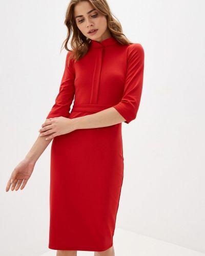 Платье футляр красный Trendyangel