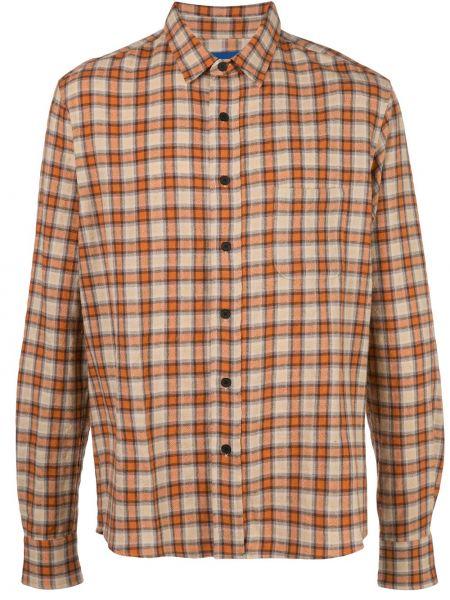 Klasyczna klasyczna koszula bawełniana z długimi rękawami Simon Miller